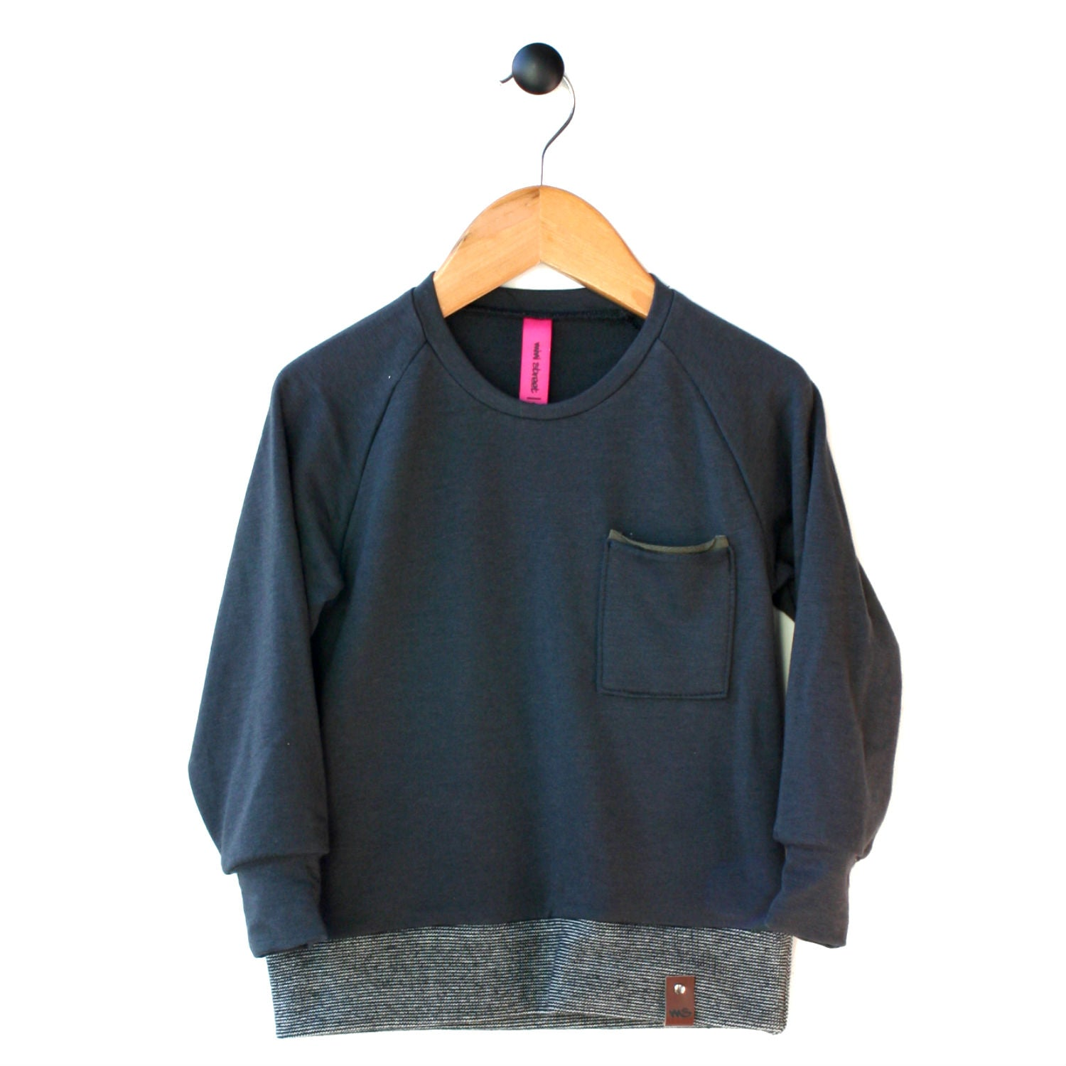 Day 2: Jaxon Crew Shirt - Charcoal