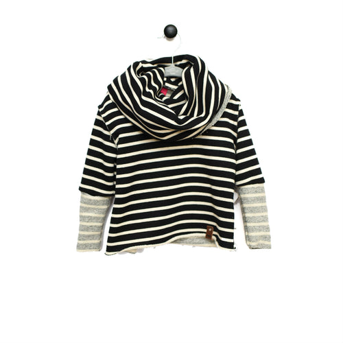 Jessie Sweater - Black Stripe