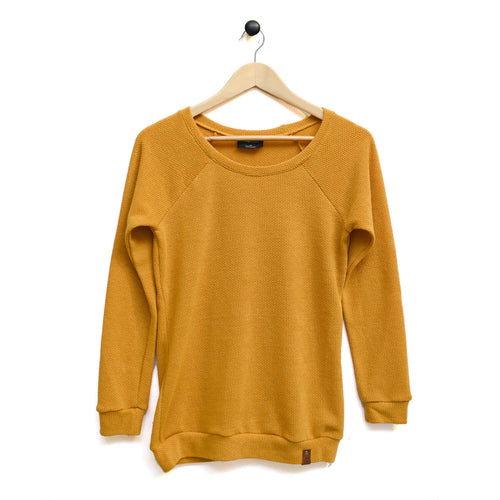 Josie Women's Sweater - Mustard