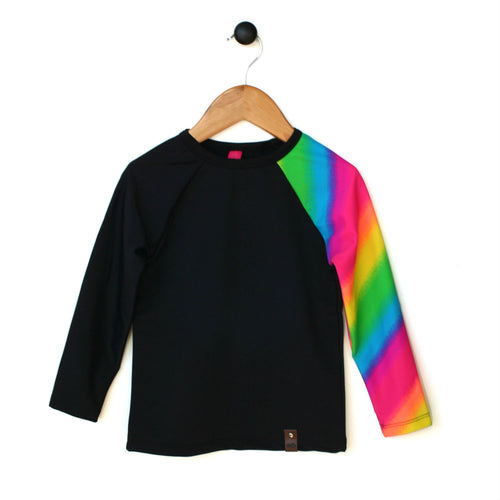 Kai Rash Guard Shirt - Rainbow