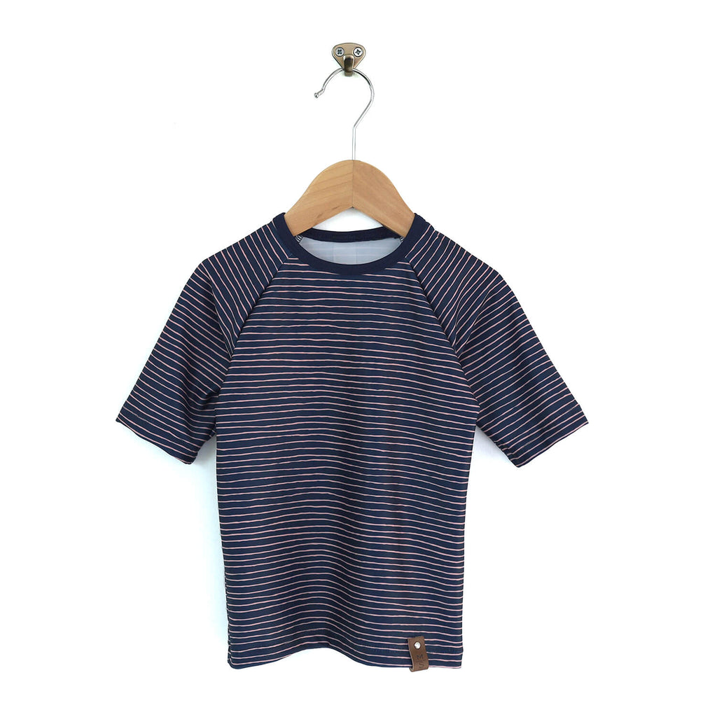 Kai Rash Guard - Navy Stripe