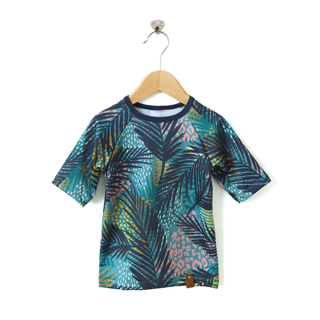 Kai Rash Guard - Teal Tropics