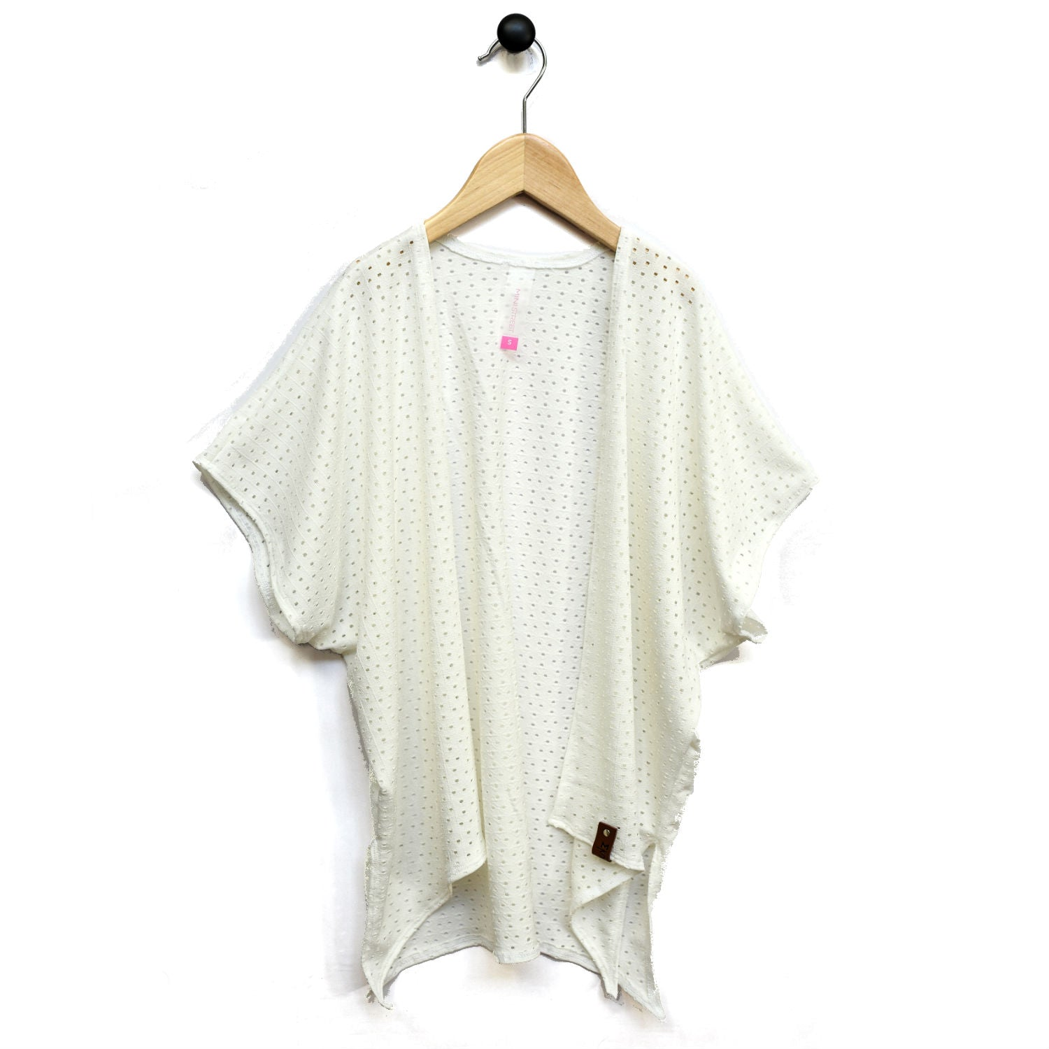 Nevaeh Kimono - White Lattice