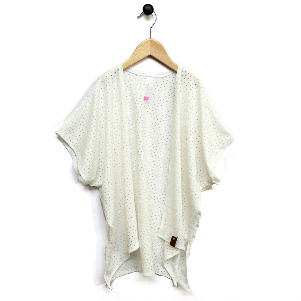 Nevaeh Kimono Woman - White Lattice