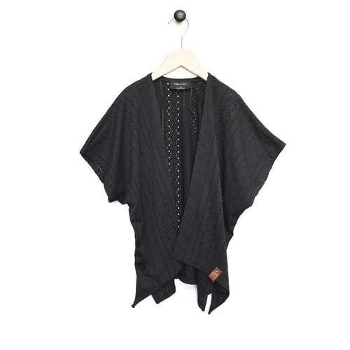 Nevaeh Kimono - Black Lattice