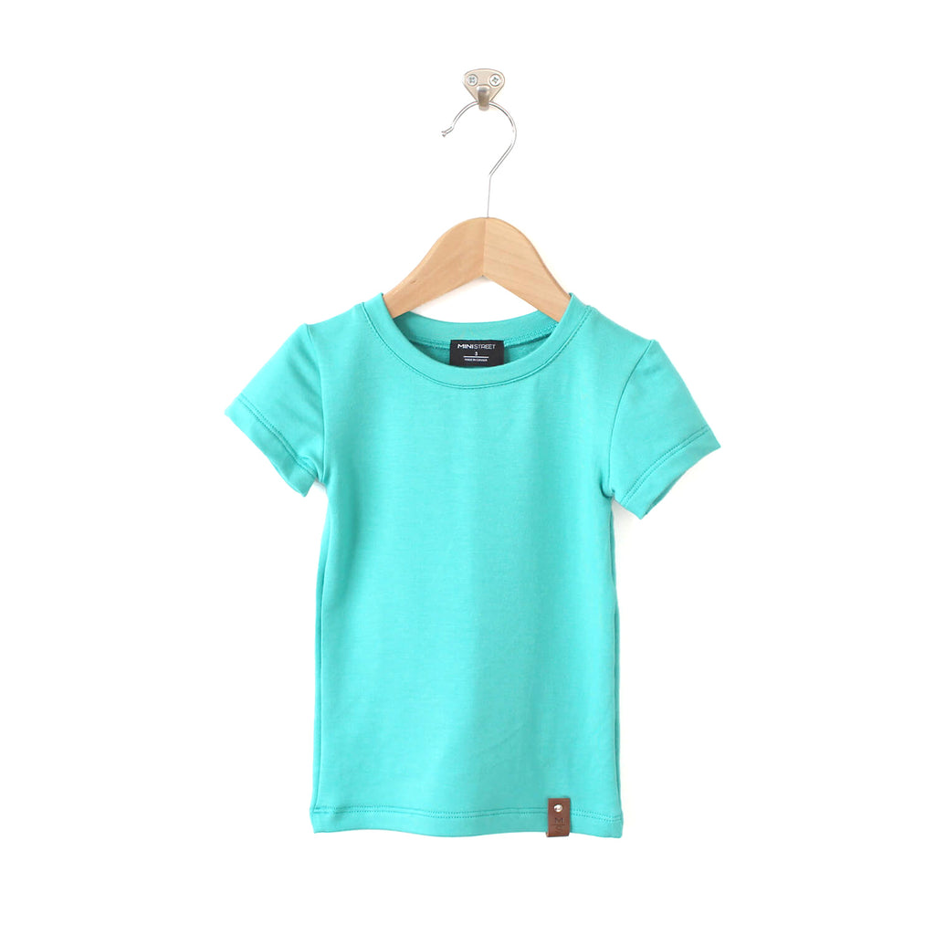 Mae Fitted Tee - Teal
