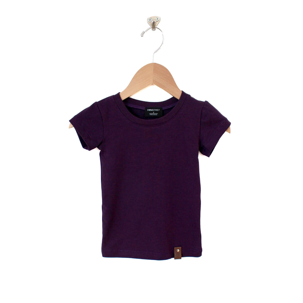 Mae Fitted Tee - Plum
