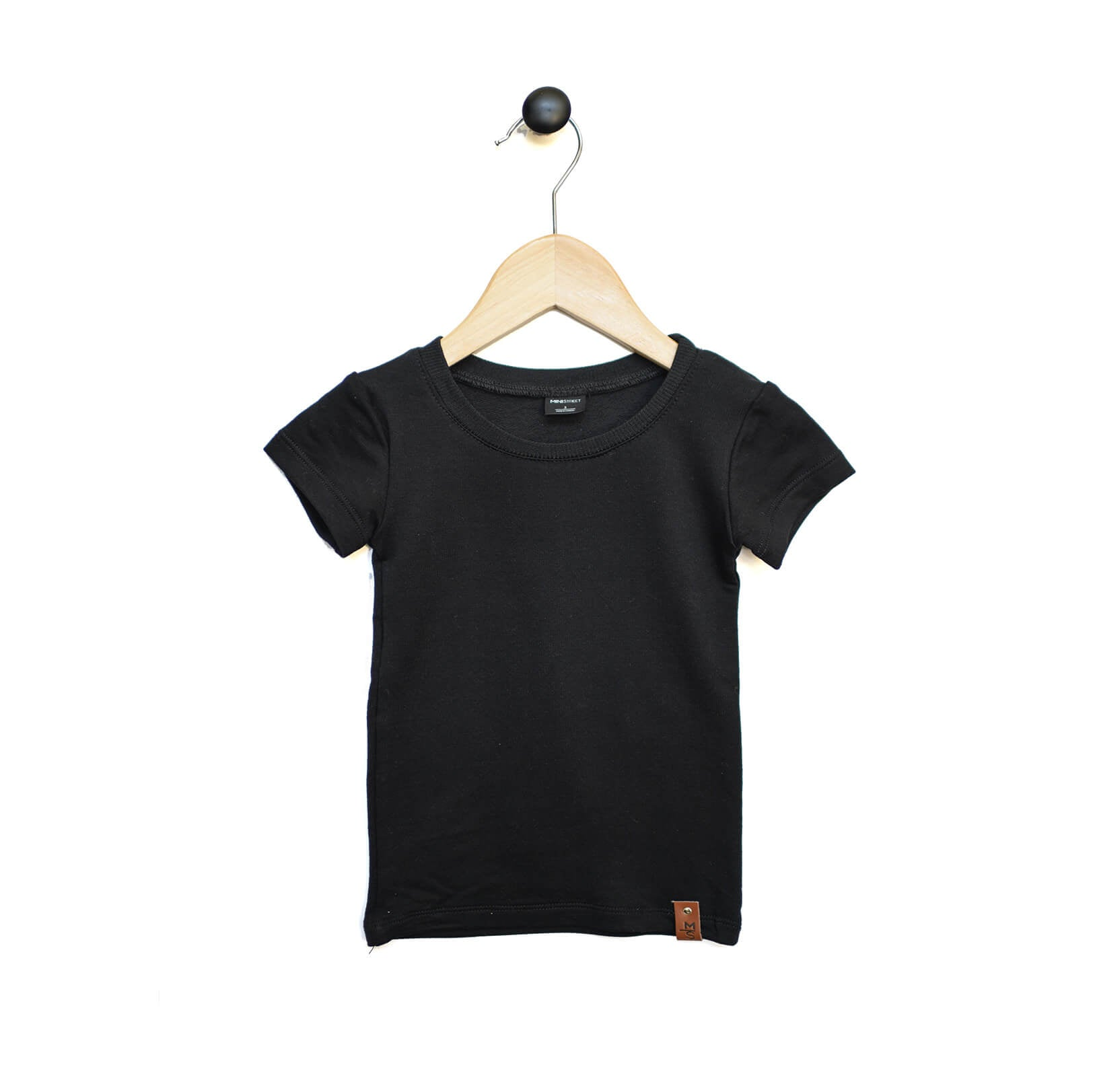 Mae Fitted Tee - Black