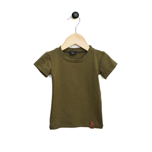 Mae Fitted Tee - Olive