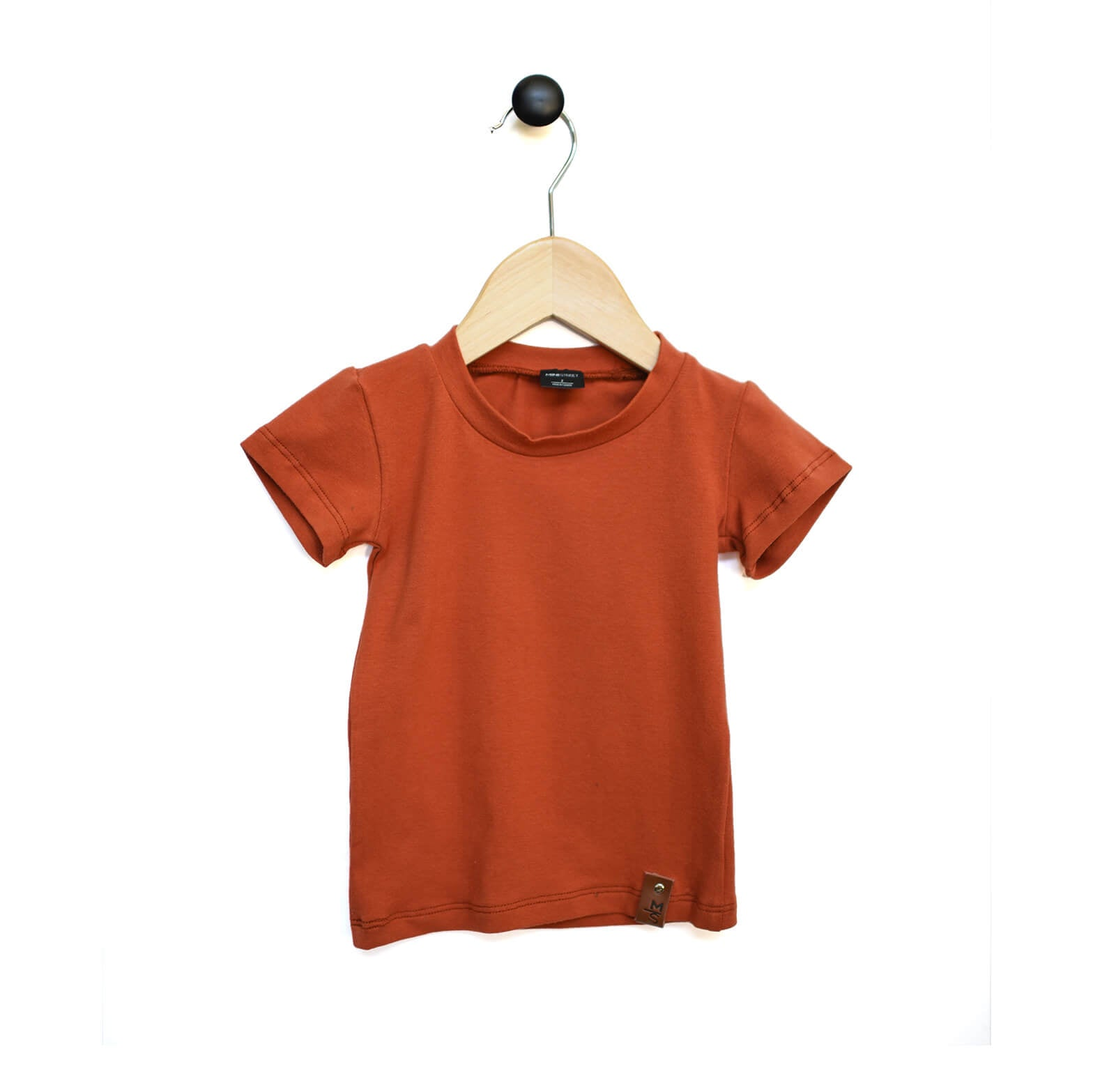 Mae Fitted Tee - Rust