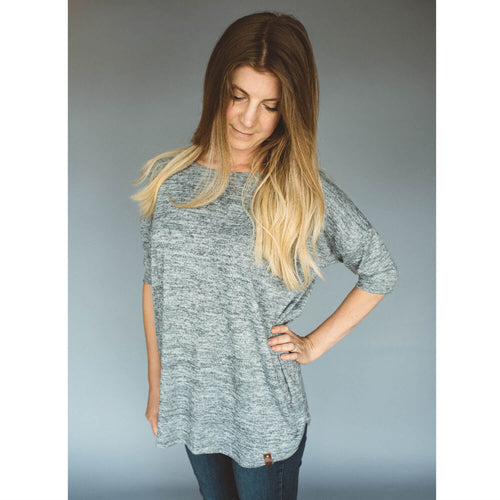 Maisie Women's Sweater - Grey