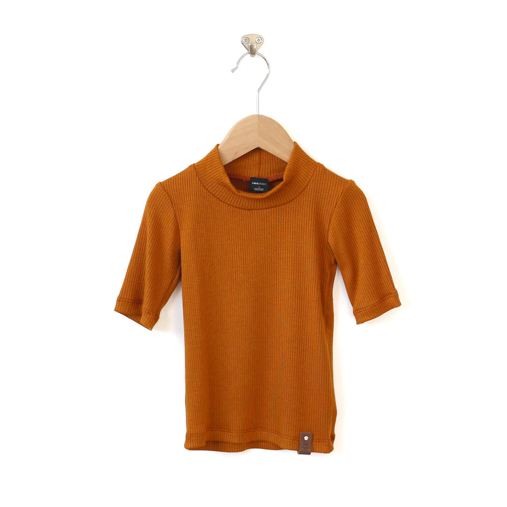 Marin Mock Fitted Tee - Copper Rib