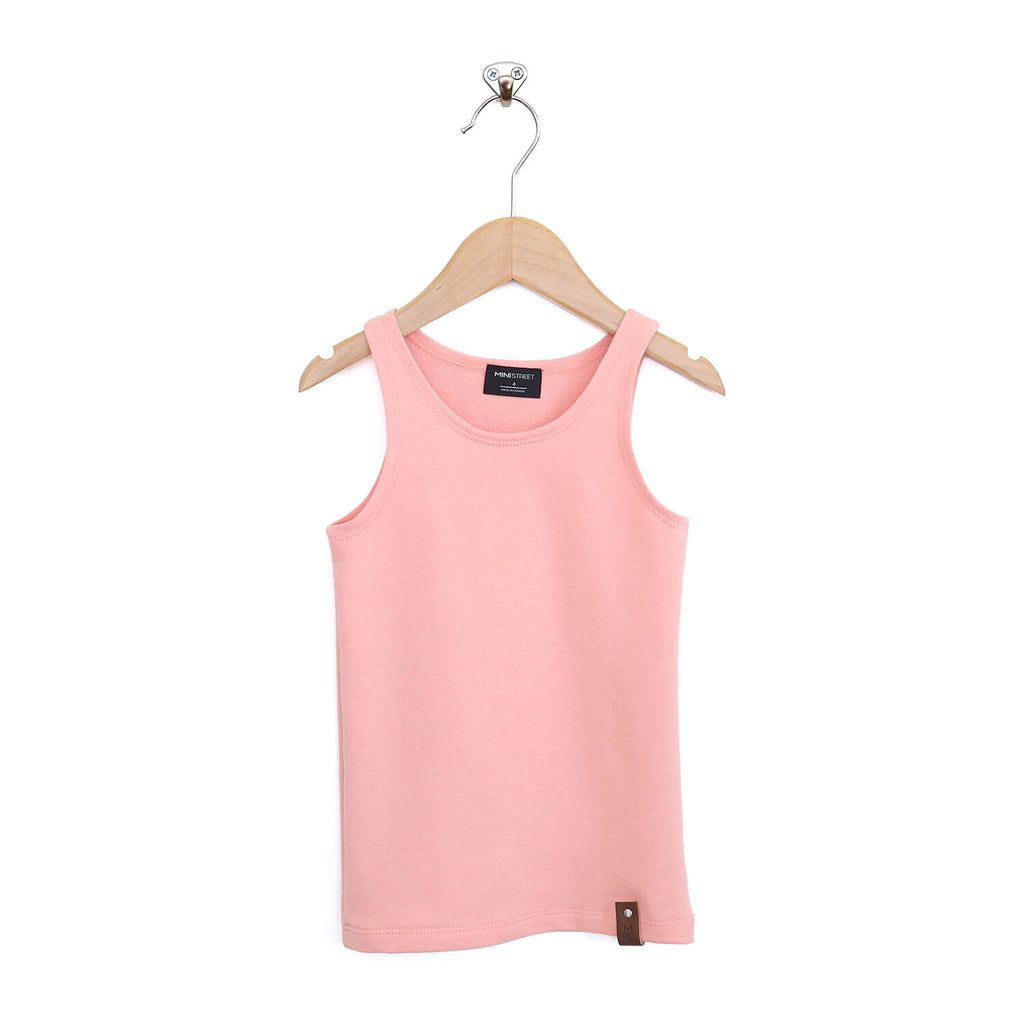 Mia Fitted Tank - Peach
