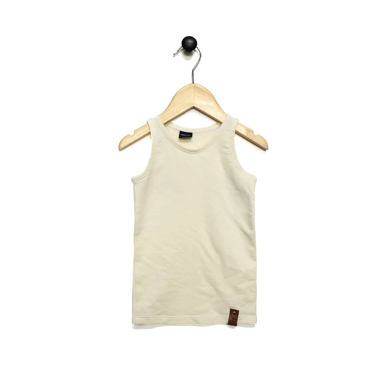 Mia Fitted Tank - Cream