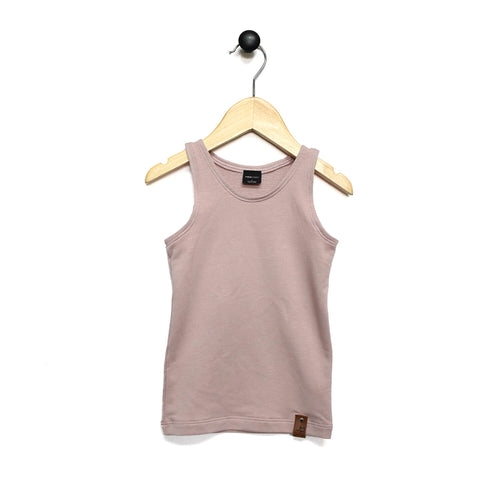 Mia Fitted Tank - Blush Pink
