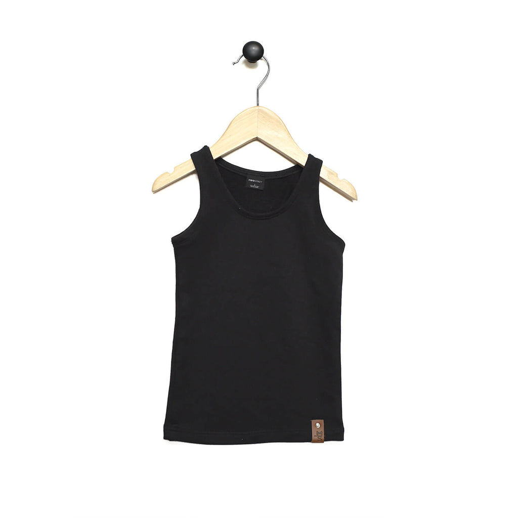 Mia Fitted Tank - Black