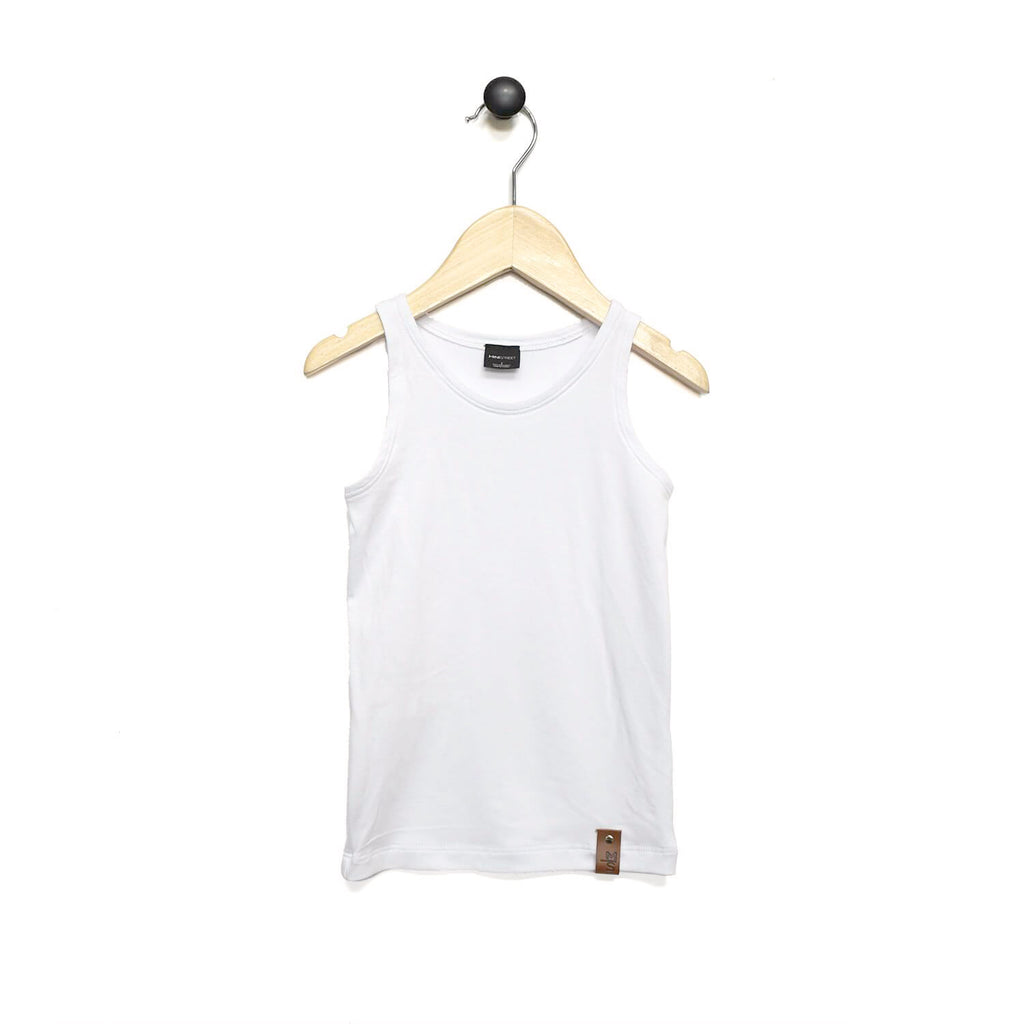 Mia Fitted Tank - White