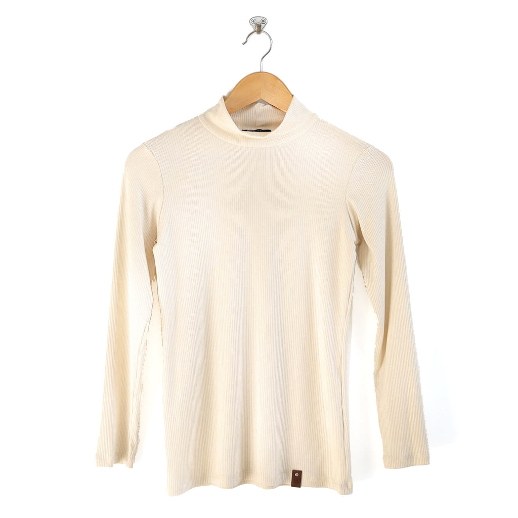 Marin Women's Top - Ivory Rib