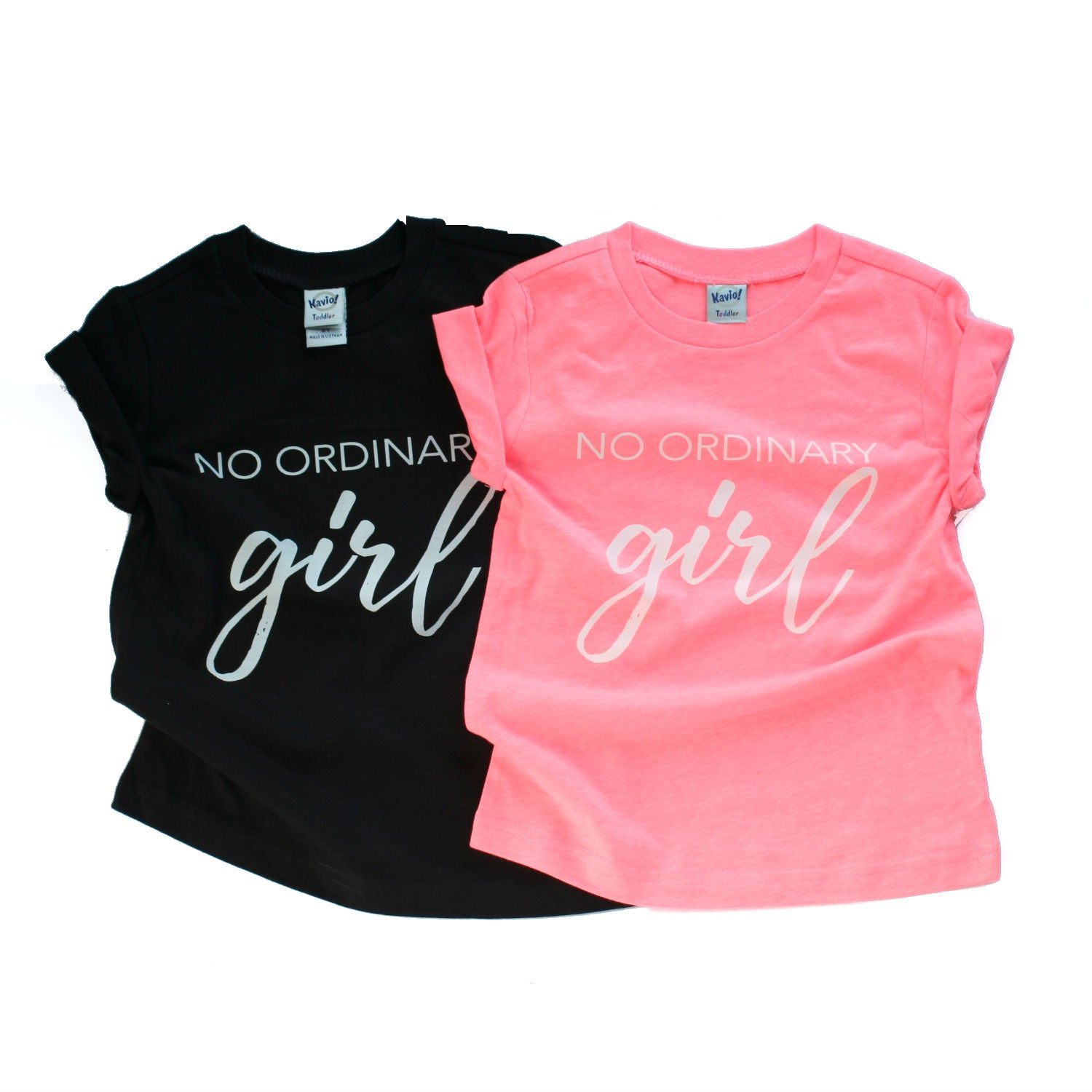 Tee - No Ordinary Girl - Multi-colors
