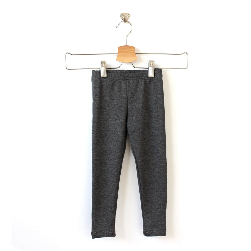 Stella Leggings - Heather Grey Bamboo