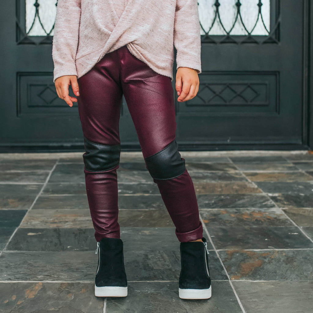 Stevie Moto Pants - Rogue Vegan Leather