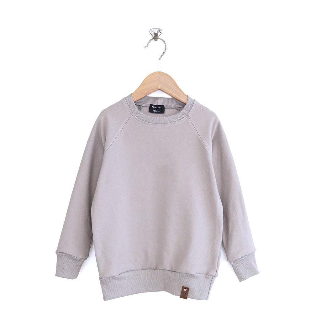 Jaxon Crew Sweater - Adult - Ash Grey