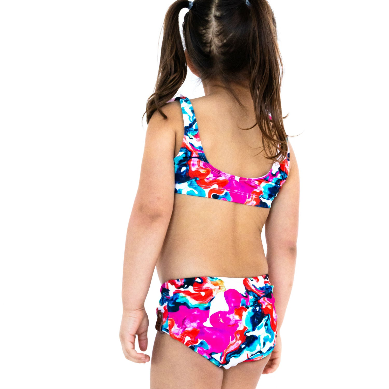 Kali Swim Bikini Bottoms - Watercolor