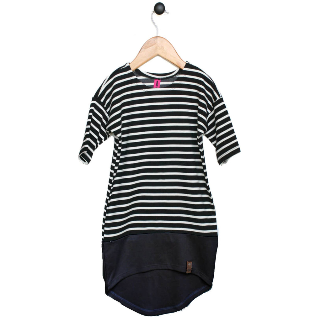 Taylor Women's Dress - Black Stripe