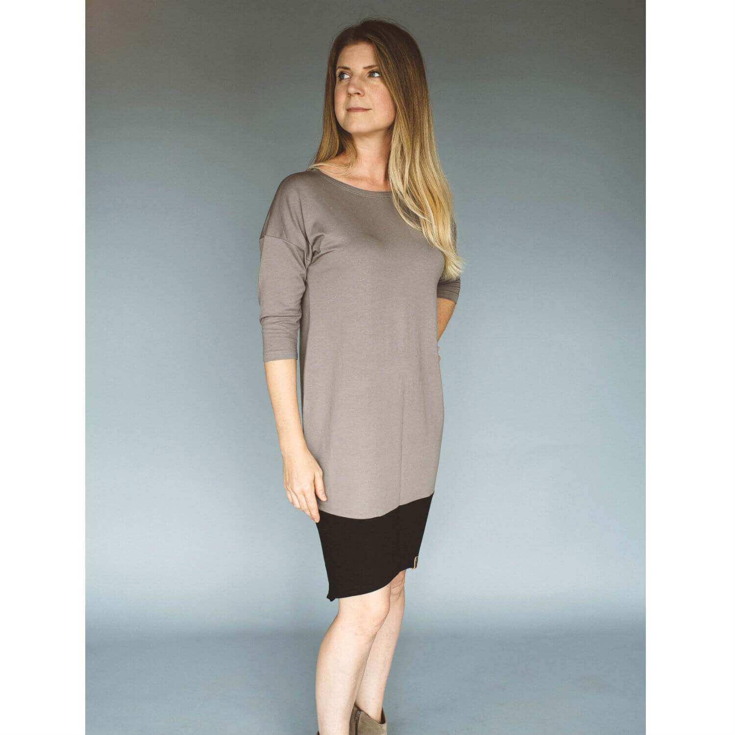 Taylor Woman Dress - Taupe