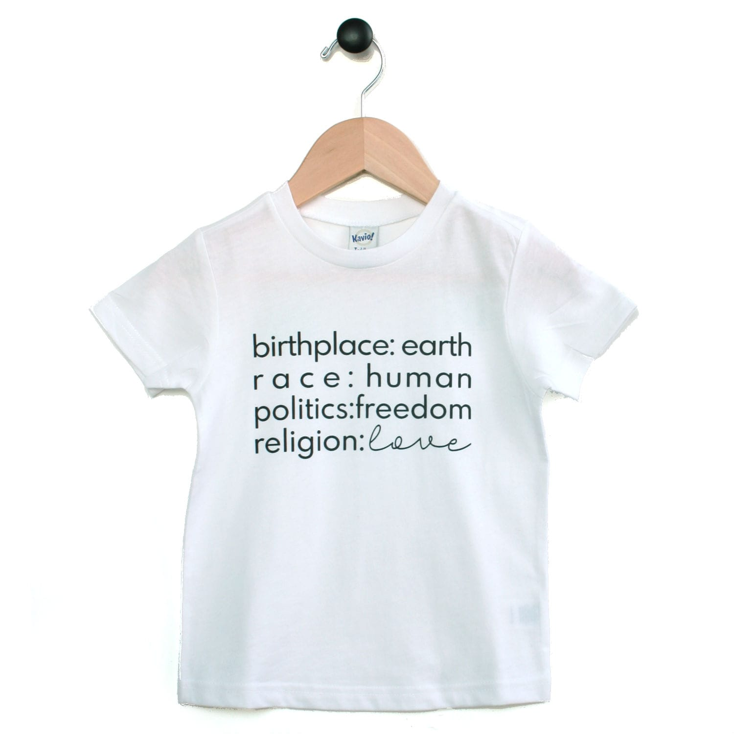 Tee - Birthplace Love - Multi colors