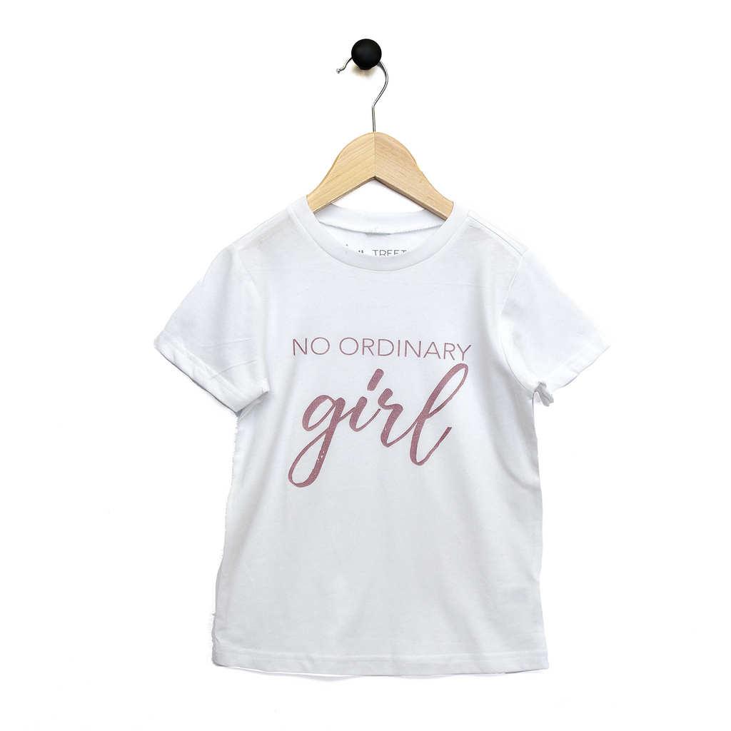 Tee - No Ordinary Girl - Multi-colours