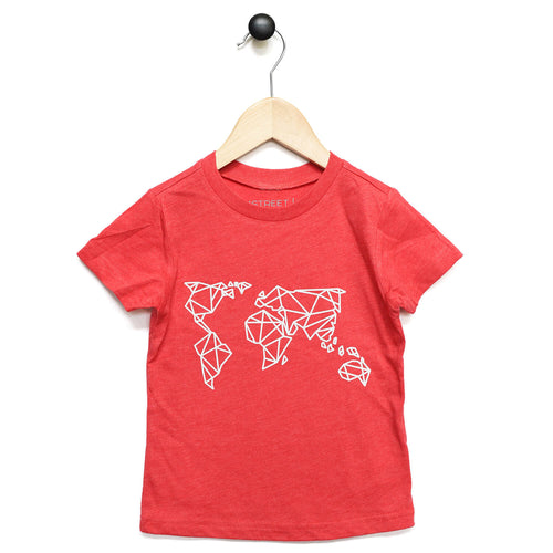 Tee - 35Ltd Map - Kids