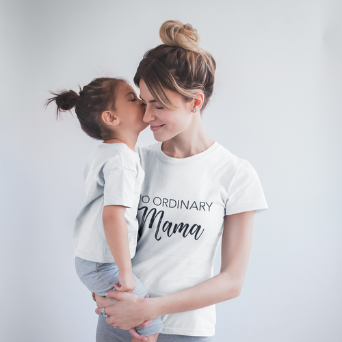 Tee - No Ordinary Mama - Multi colours