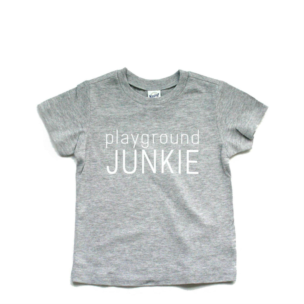 Tee - Playground Junkie - Multi colours