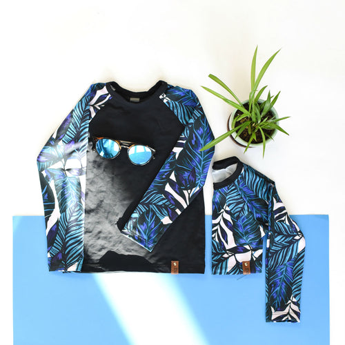 Kai Rash Guard - Blue Tropix