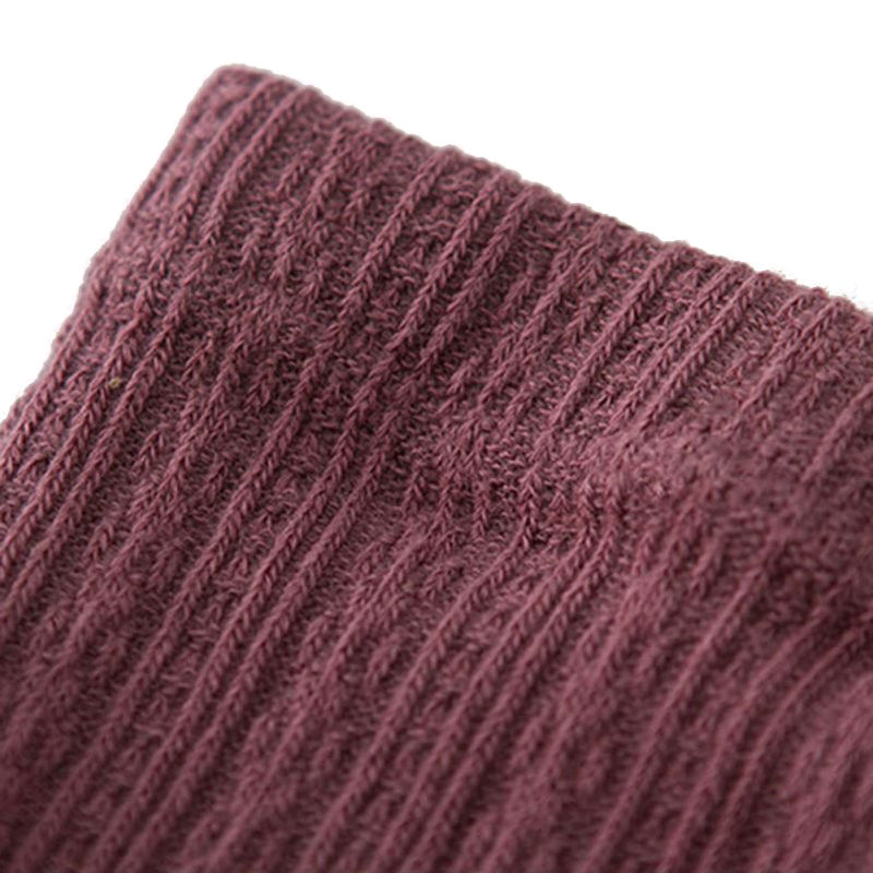 Seamless cable knit tights for babys and girls