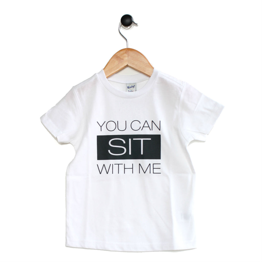 Tee - Sit With Me - Multi colours