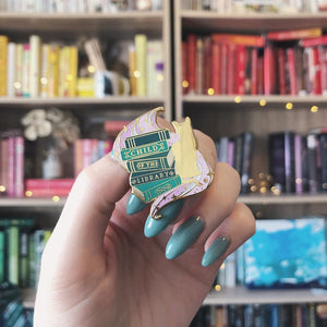 June 'Libraries of Wonder' Enamel Pin