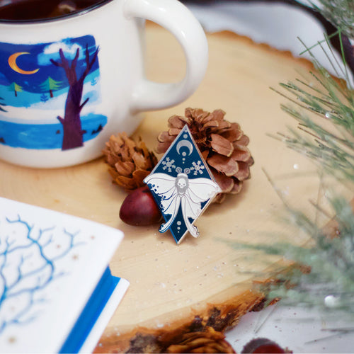 November 'Through the Enchanted Forest' Enamel Pin