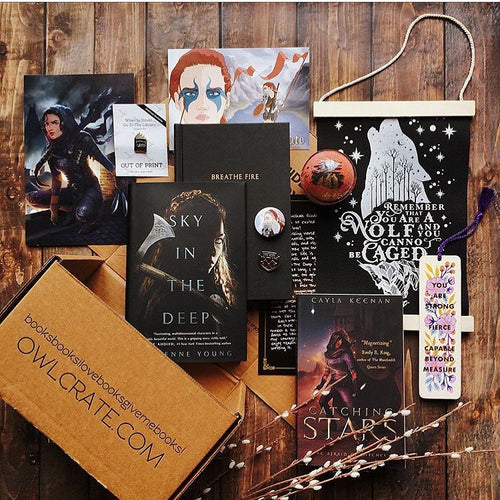 OwlCrate May 2018 'FIGHT LIKE A GIRL' Box