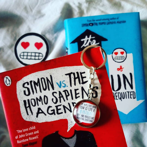 Love Simon Keychain