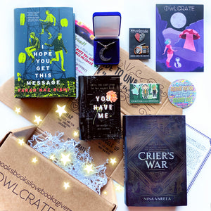 OwlCrate October 2019 'DAWN OF A NEW WORLD' Box