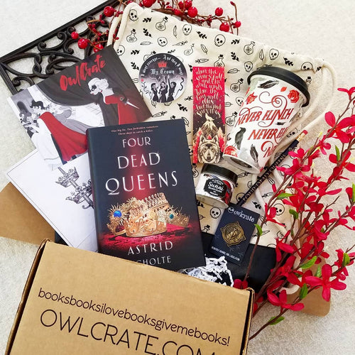 OwlCrate March 2019 'MURDER AND MAYHEM' Box