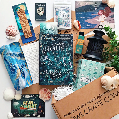 OwlCrate August 2019 'STORMS & SEAS' Box