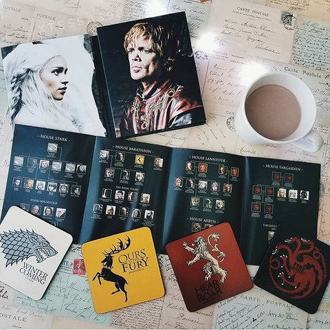 Game of Thrones Houses Coaster Set