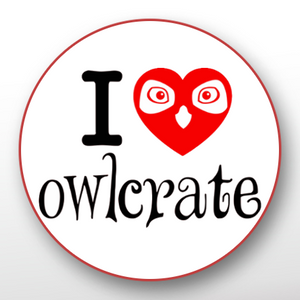 'I Love OwlCrate' Button