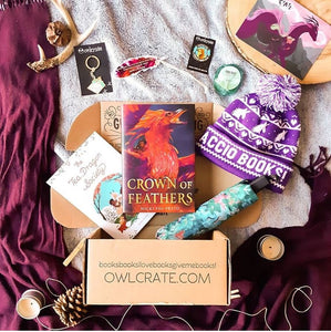 OwlCrate February 2019 'WHIMSICAL BEASTS' Box