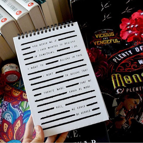 Black Out Poetry Notebook