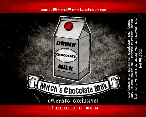 Mitch's Chocolate Milk Lip Balm