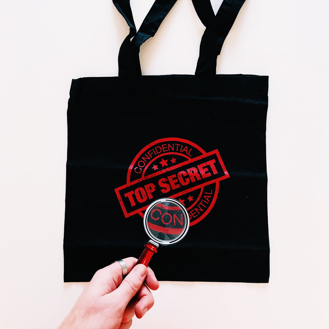 Exclusive Top Secret Tote Bag